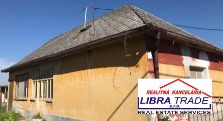 PREDAJ - 2/3 izbový rodinný dom v Okoličnej na Ostrove