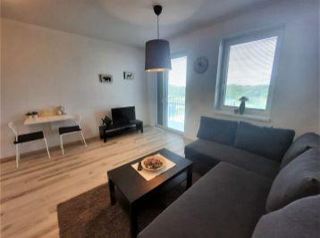Prenájom 1 izbového bytu s balkónom v novostavbe tehlového bytového domu, Platan