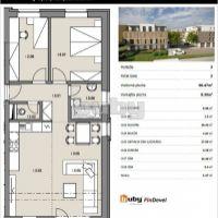 3 izbový byt, Martin, 66 m², Novostavba