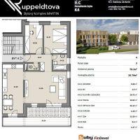 3 izbový byt, Martin, 78 m², Novostavba