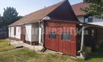 Predaj staršieho rodinného domu - chalupy v obci Jasová.