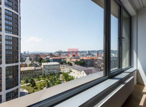 Na prenájom priestranný 3 izbový byt v projekte SKY PARK s úžasným výhľadom na Bratislavský hrad