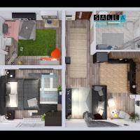 3 izbový byt, Tomášikovo, 60 m², Novostavba