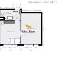 1 izbový byt, Banská Bystrica, 37 m², Pôvodný stav