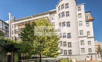 Kancelárske priestory 225 m2 pod Horským Parkom, v luxusnom komplexe v centre Bratislavy
