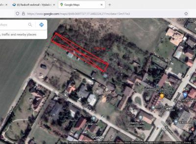 Na predaj stavebný pozemok na výstavbu rod. domu priamo v centre Hviezdoslavova. 504m2
