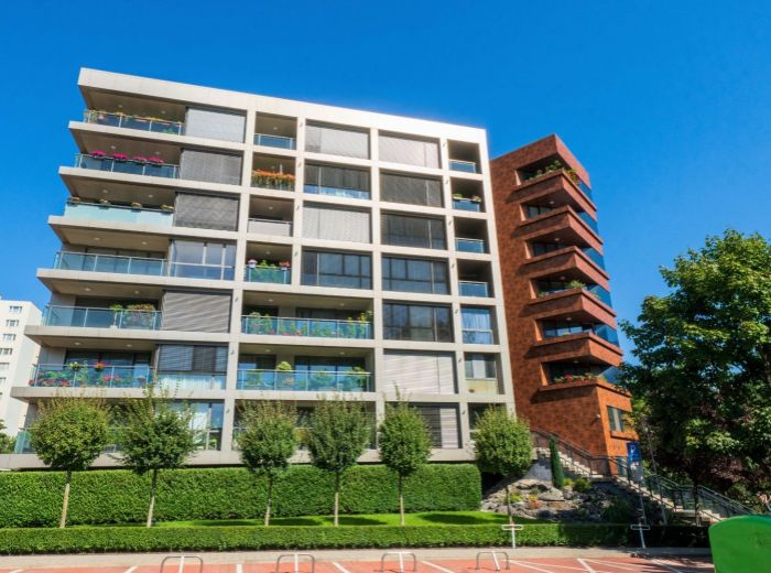 TRHOVÁ, 2-i byt, 73 m2 - DÚBRAVIA - nominácia stavba roka, loggia, tichá lokalita, GARÁŽOVÉ STÁTIE