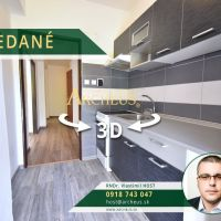 2 izbový byt, Harmanec, 47 m², Čiastočná rekonštrukcia