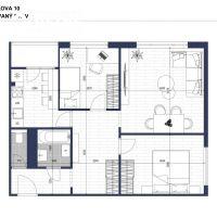 3 izbový byt, Bratislava-Petržalka, 62.50 m², Pôvodný stav