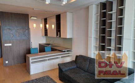Exkluzívny 2 izbový byt, Landererova ulica, Panorama city, zariadený, parkovanie, loggia na prenájom