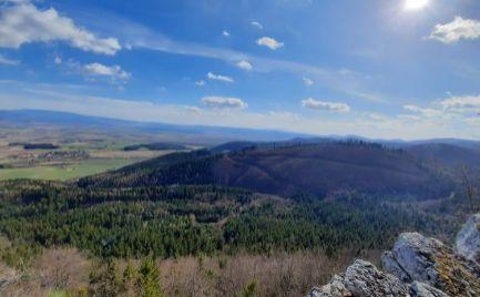 Lesné pozemky okres Turčianske Teplice