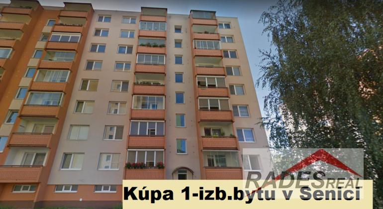 Kúpa 1-izb bytu v Senici