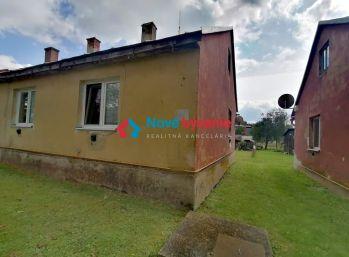 NA PREDAJ 2- izbový byt/dom so záhradou v Medzilaborciach (N030-112-ALMa)