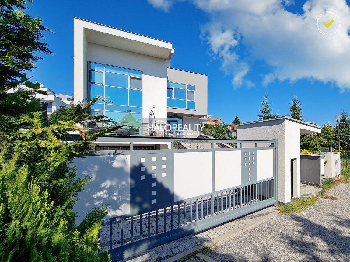 Predaj, rodinný dom Bratislava Nové Mesto, Koliba, exkluzívna rezidenčná vila - NOVOSTAVBA