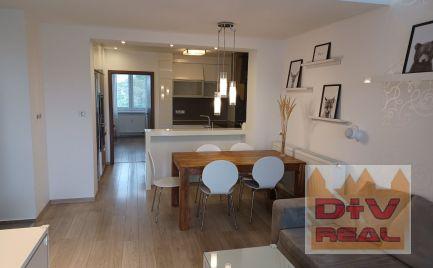 Na predaj moderne zrekonštruovaný klimatizovaný 3 izbový byt s bakónom, BA II, Ružinov, Košická