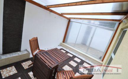 Prenájom pekného zariadeného 2i bytu s terasou a garážovým státím v novostavbe