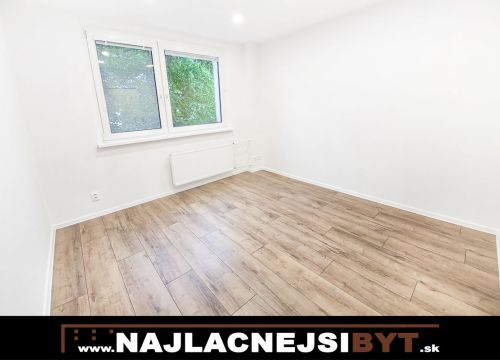 Najlacnejsibyt.sk: BAIV - Dúbravka - Drobného ul., kompletne zrekonštruovaný 3 izbový byt s loggiou 69m2