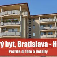 1 izbový byt, Bratislava-Podunajské Biskupice, 52 m², Novostavba