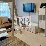 Na prenájom plne zariadený 1-izbový byt na Žltej ulici v časti Vila Domy v novostavbe Slnečnice
