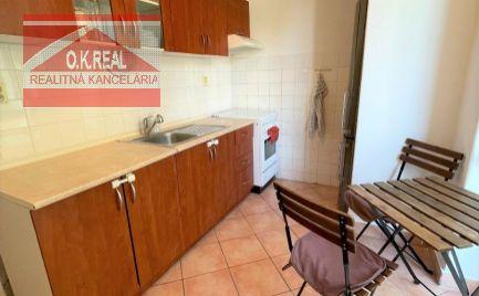 Ponúkame na prenájom zariadený 2 izbový byt s dvomi samostatnými izbami na Raketovej ulici v Ružinove-Ostredky
