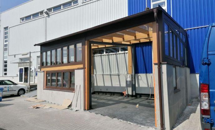 TOP PONUKA Nové Mesto: Showroom 60 m2 na prenájom v stráženom areáli