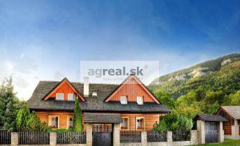 Nadštandardný 6-izbový rekreačný / rodinný dom na Liptove - Kvačianska dolina