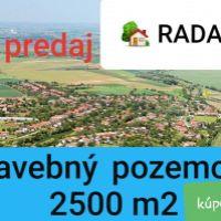 Pre rodinné domy, Radava, 2500 m², Pôvodný stav