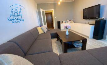 Rezervované! Veľký 3 izbový byt s balkónom na predaj v Seredi