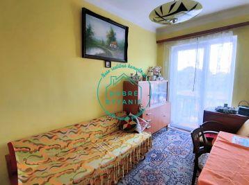 Na predaj 3 izbový byt v tehlovej bytovke v uzavretom dvore s Garážou