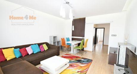 PRENÁJOM 3 izbového bytu v Ružinove, Mierová, balkón, zariadený, parking