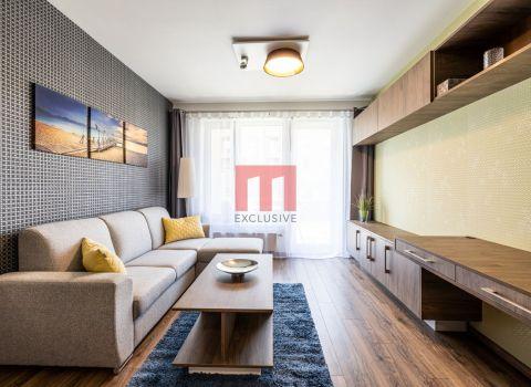 REZERVOVANÝ - na prenájom úplne nový 2 izbový byt s predzáhradkou a parkovacím miestom v projekte BORY 2 Nový dvor