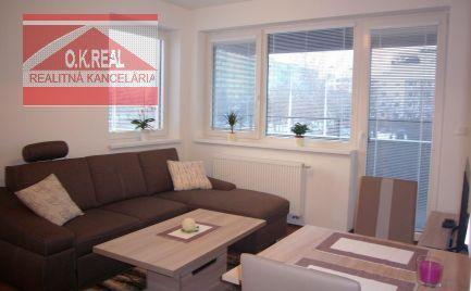 Ponúkame na prenájom zariadený 2-izbový byt na Ružinovskej ulici v novostavbe Cityhouse Ružinov od 1.12.2021