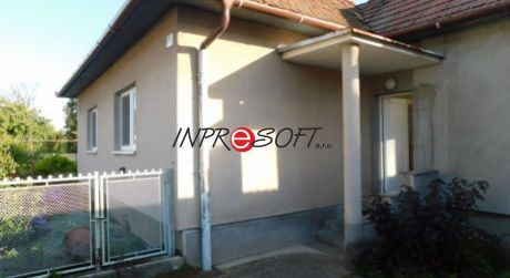 Na predaj rodinný dom Velčice