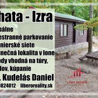 Chata, drevenica, zrub, Slanská Huta, 44 m², Čiastočná rekonštrukcia
