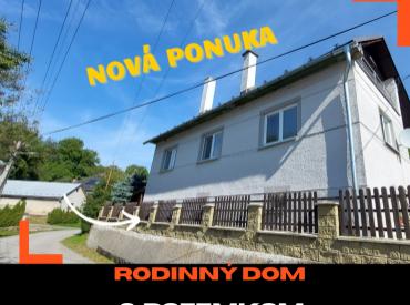 VIDEO - Rodinný dom 7+2, v krásnom prostredí + pozemok 912 m2