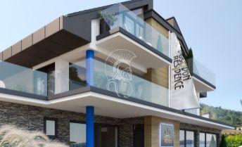 Apartmán s veľkorysou terasou a výhľadom na Domašu