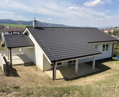 Na predaj novostavba nízkoenergetický bungalov 461 m2 Ráztočno FM1176