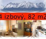 Výborná cena!!4 izbový byt v Poprade na predaj, s loggiou, s výhľadom na V. Tatry, výborná poloha