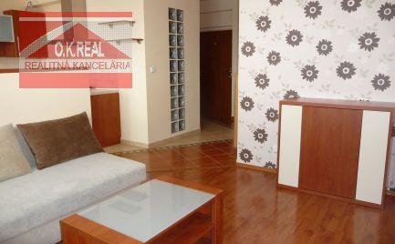 Ponúkame na prenájom 2-izbový byt s parkovaním na Kazanskej ulici, lokalita Bratislava II.-Podunajské Biskupice