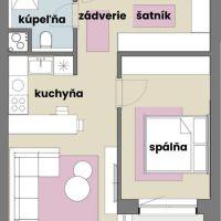 2 izbový byt, Miloslavov, 60 m², Novostavba