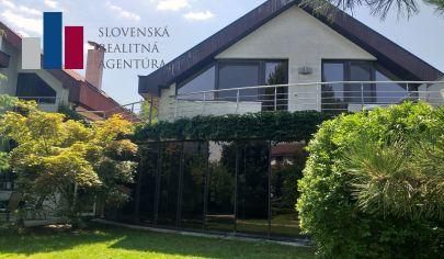 PRENÁJOM rodinný dom,veľká záhrada,garáž,vnútorný bazén, Vrakuňa