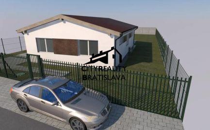 Na predaj - Šikovný moderný 4 izb. rod.dom - bungalov s Pozemkom 889m2
