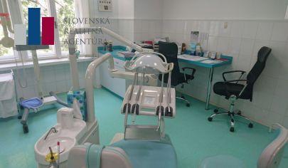 PRENÁJOM stomatologická ambulancia Bratislava STARÉ MESTO, vhodná aj pre dentálneho hygienika dohľad lekára je možný dohodou