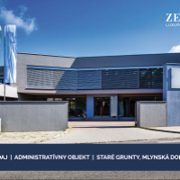 Administratívna budova, Bratislava-Karlova Ves, 1100 m², Novostavba