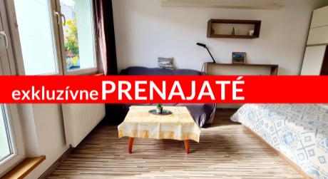 EXKLUZÍVNE 1 izbový byt s balkónom vo vyhľadávanej lokalite - Bysterec
