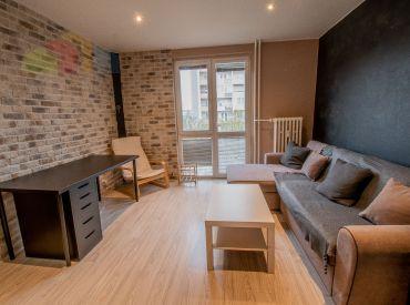 Na prenájom pekný 1,5 izbový byt po rekonštrukcii, Sabinovská ulica, Ružinov, v blízkosti Štrkoveckého jazera, voľný od 15.11.2021