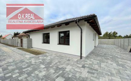Ponúkame na prenájom nový, ešte neobývaný 4-izbový RD na ulici Máchova, lokalita Bratislava II.-Podunajské Biskupice