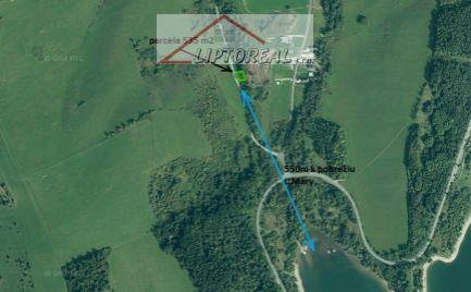 EXKLUZÍVNE-Pozemok v blízkosti Lipt.Mary vhodný pre rybára