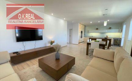 Ponúkame na prenájom luxusný mezonetový 5-izbový byt s terasou na ulici Lužná/Bosáková vo výbornej lokalite na začiatku Petržalky