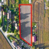 Pre rodinné domy, Gabčíkovo, 4200 m², Pôvodný stav
